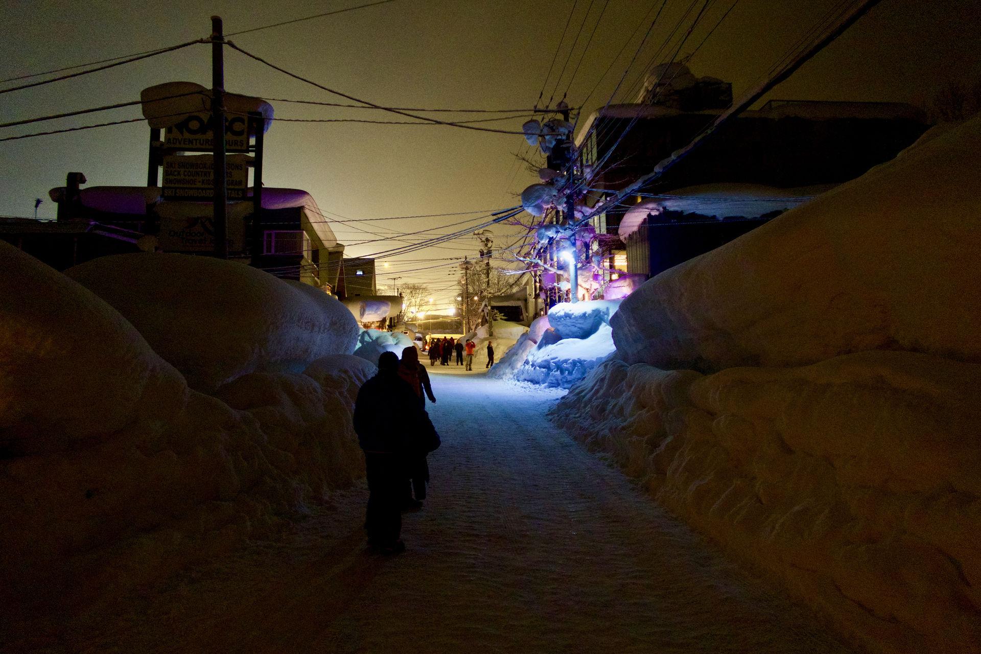 Niseko dedina Hokkaido