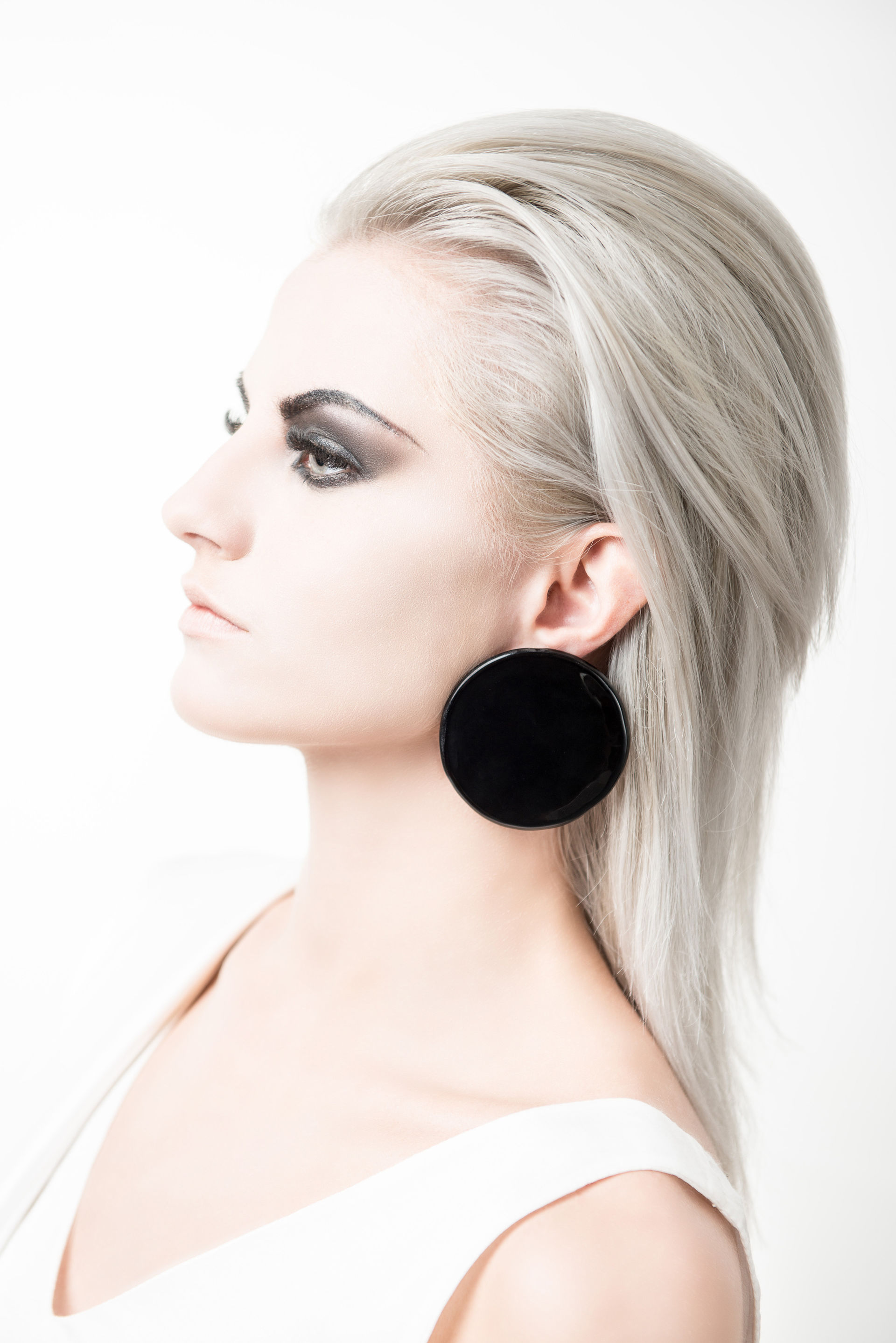 DIVIT / Circle Earrings