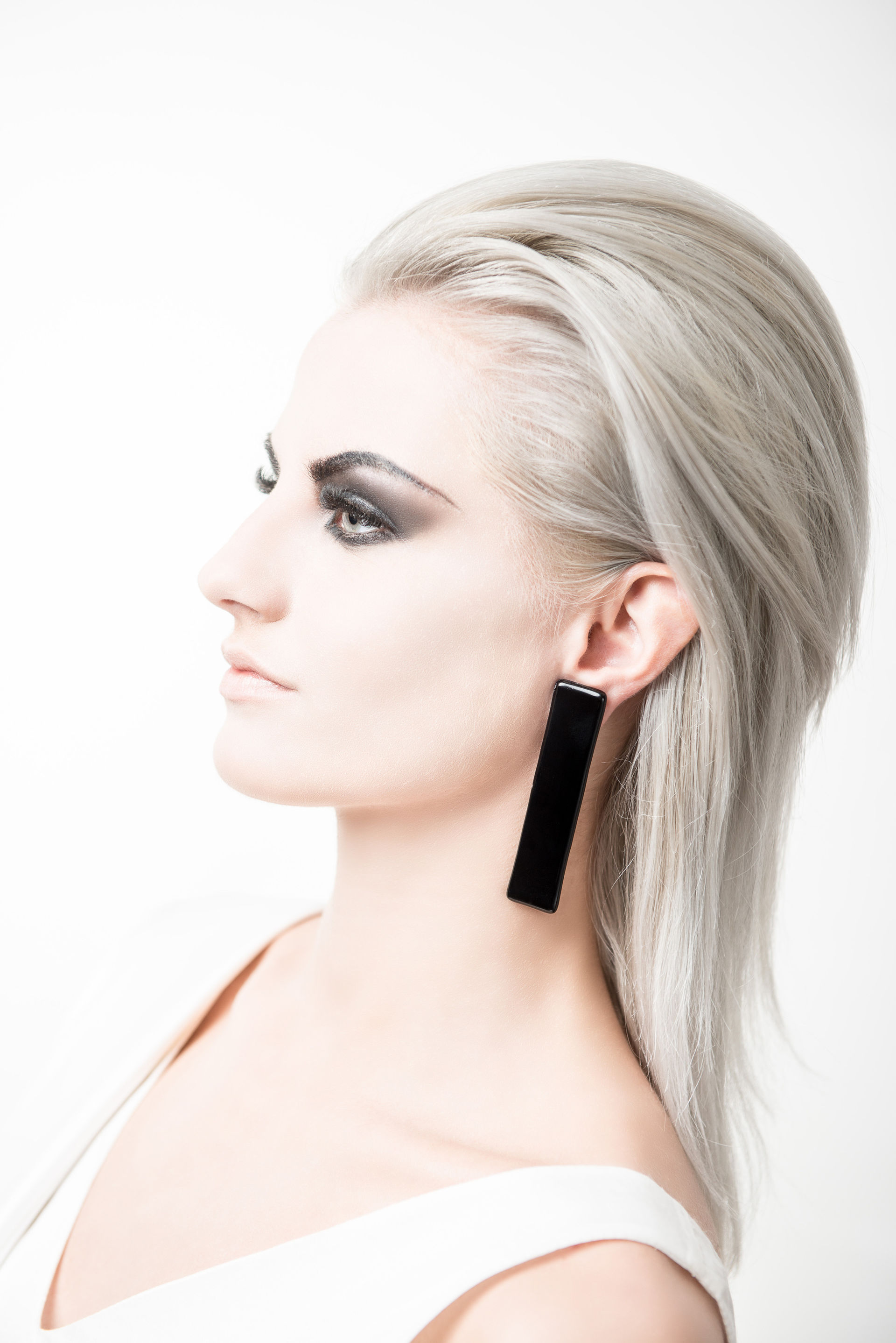 DIVIT / Rectangle Earrings