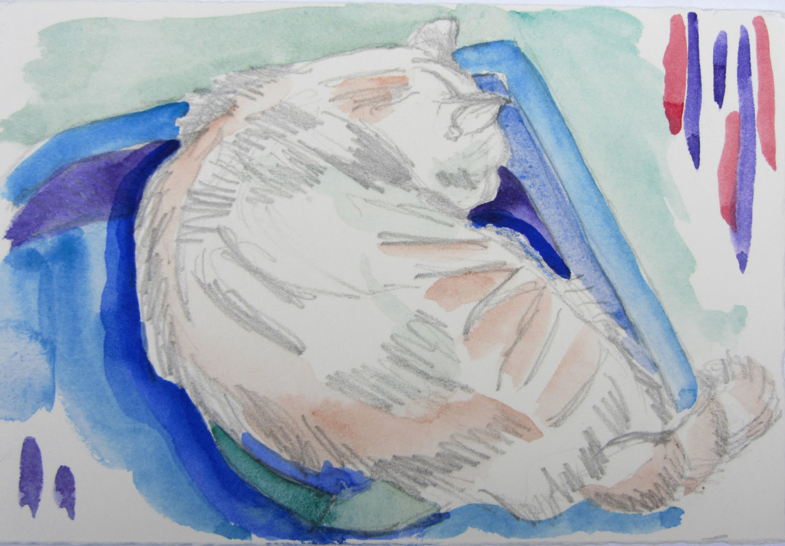 Isabel Sleeping #3