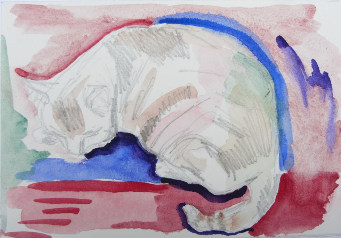 Isabel Sleeping #1