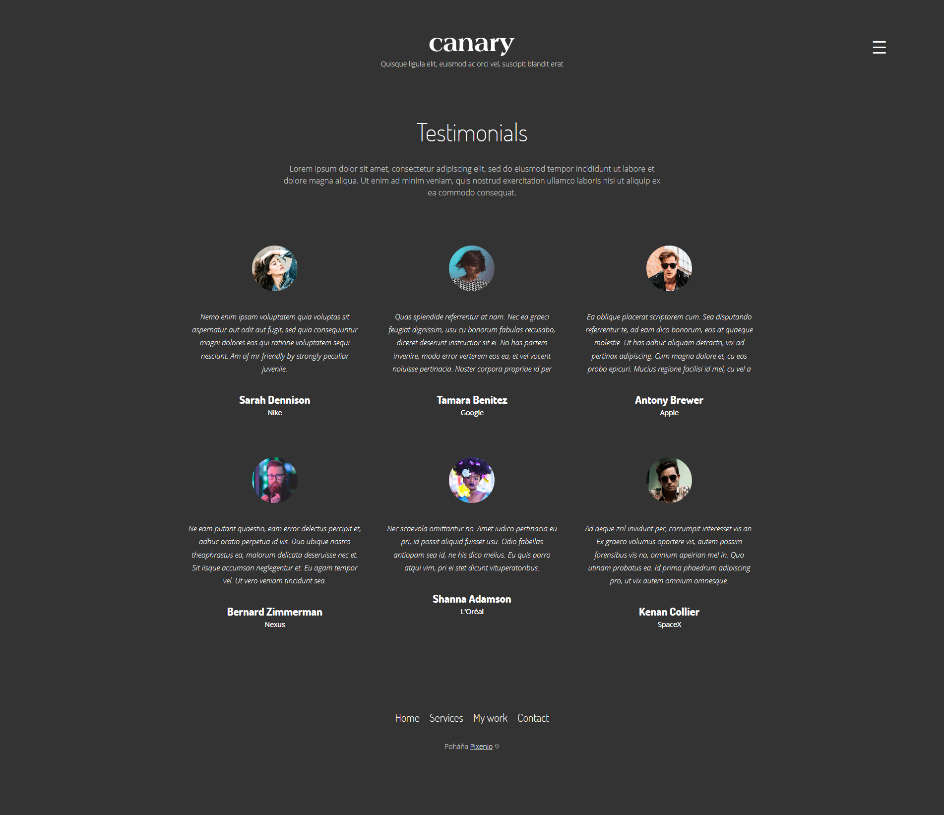 Graphic design portfolio for Freelancers