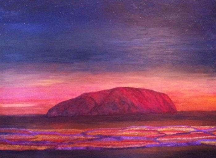 Uluru - Field of Lights