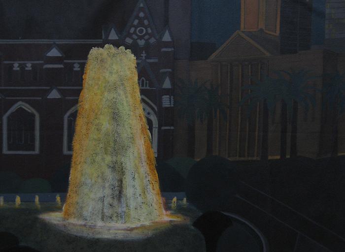 Brisbane - City Hall Fountain