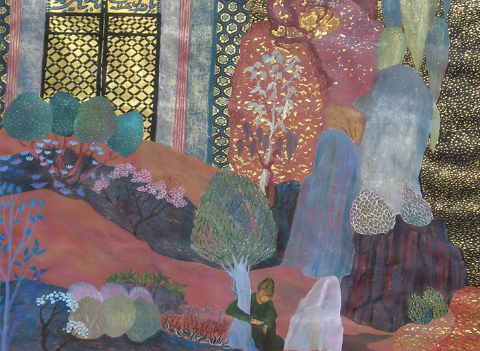 Oriental Garden (Detail)