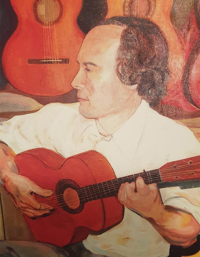 Musician - Tony Morrison (Detail)